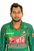 Mushfiqur Rahim, Bangladesh cricket team headshots ahead of their New Zealand tour. Cobham Oval, Whangarei. 21 December 2016. Copyright Image: Heath Johnson / www.photosport.nz