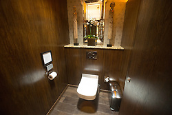 Stobo Castle has just spent over £100,000 creating the most luxurious ladies loos which even feature toilets with wash and blow dry facilities, believed to be a first in Scotland.