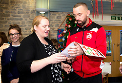Aaron Wilbraham of Bristol City signs autographs during Bristol City's visit to the Children's Hospice South West at Charlton Farm - Mandatory by-line: Robbie Stephenson/JMP - 21/12/2016 - FOOTBALL - Children's Hospice South West - Bristol , England - Bristol City Children's Hospice Visit