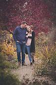 Kortney & Patrick's fall Cambridge engagement photo shoot