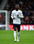 Naby Keïta (8) of Liverpool during the Premier League match between Bournemouth and Liverpool at the Vitality Stadium, Bournemouth, England on 7 December 2019.