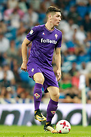 ACF Fiorentina's Nikola Milenkovic during Santiago Bernabeu Trophy. August 23,2017. (ALTERPHOTOS/Acero)