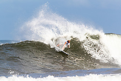 Finn McGill of Hawaii advances to round three after placing first in round two heat 3 ​of the 2018 Hawaiian Pro at Haleiwa, Oahu, Hawaii, USA.