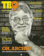 Portrait of Archie Schaffer for a magazine cover in Springdale, Arkansas.