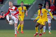 Doncaster Rovers midfielder Ali Crawford (11) during the The FA Cup 5th round match between Doncaster Rovers and Crystal Palace at the Keepmoat Stadium, Doncaster, England on 17 February 2019.
