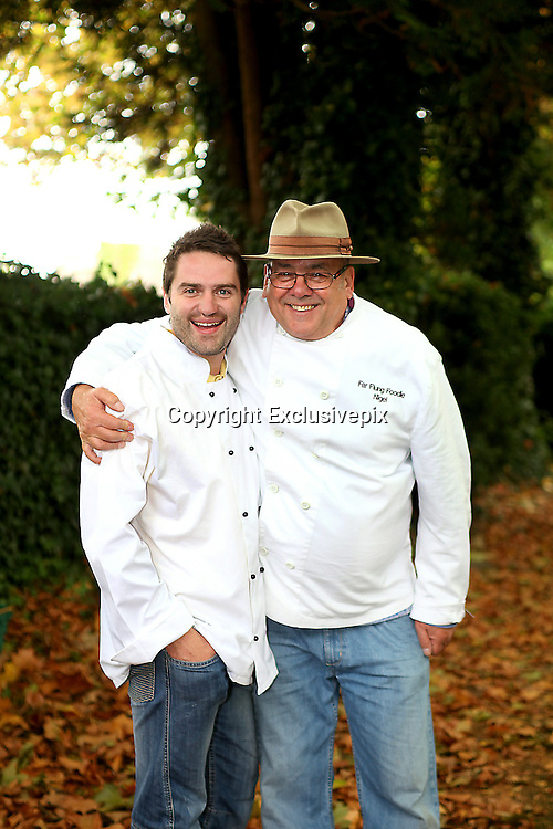 George Gilby planning a TV series with Far Flung Foodie Nigel Gifford.<br /> <br /> <br /> Former Gogglebox and Celebrity Big Brother finalist George Gilbey was<br /> spotted out at the weekend in Wells in Somerset. The Wells Food Festival was<br /> in full swing when George teamed up with Far Flung Foodie Nigel Gifford.<br /> George was keen to don the chef whites and get stuck-in preparing Arctic<br /> Fish Soup as eaten by the indigenous Inuit people of Greenland, he also<br /> tried his hand at a Nepalese delicacy which is the staple of Sherpa's<br /> leading treks to Everest Basecamp.<br /> <br /> Nigel is an expedition cook, who's Far Flung Foodie business recreates<br /> expedition dishes, authentically using ingredients and cooking methods that<br /> would have been used by some of the world's most famous explorers. George<br /> was learning the ropes and asking some telling questions about the<br /> nutrition, history, geography and finding out some weird food facts.<br /> Speculation is rife that they are planning a TV series together.<br /> ©Exclusivepix