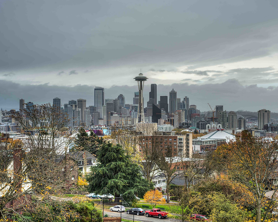 Photographed from Kerry Park in Seattle Washington