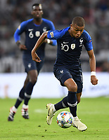 FUSSBALL UEFA Nations League in Muenchen Deutschland - Frankreich       06.09.2018 Kylian Mbappe (Frankreich) --- DFB regulations prohibit any use of photographs as image sequences and/or quasi-video. ---