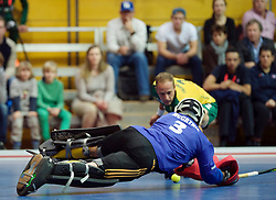 LEIZPIG - WC HOCKEY INDOOR 2015<br /> RSA v CAN (11th / 12th Plac<br /> Foto: McCATHIE Christopher (GK)<br /> FFU PRESS AGENCY COPYRIGHT FRANK UIJLENBROEK