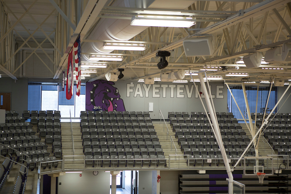 Fayetteville, Arkansas:  Jessica Phelan, Volleyball Coach at Fayetteville High School in Fayetteville, AR shot for Fayetteville A&amp;P and Sells Agency.<br /> <br /> Photography by Wesley Hitt