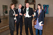 FIONA RAE; GILLIAN WEARING; MICHAEL LANDY; BILL WOODROW; , Royal Academy of Arts Annual dinner. Royal Academy. Piccadilly. London. 1 June <br /> <br />  , -DO NOT ARCHIVE-© Copyright Photograph by Dafydd Jones. 248 Clapham Rd. London SW9 0PZ. Tel 0207 820 0771. www.dafjones.com.