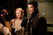 Mary Stockley; Josh Hartnett, After party for the new production of ' The Rain Man' The Trafalgar Hotel London. 10 September 2008 *** Local Caption *** -DO NOT ARCHIVE-© Copyright Photograph by Dafydd Jones. 248 Clapham Rd. London SW9 0PZ. Tel 0207 820 0771. www.dafjones.com.