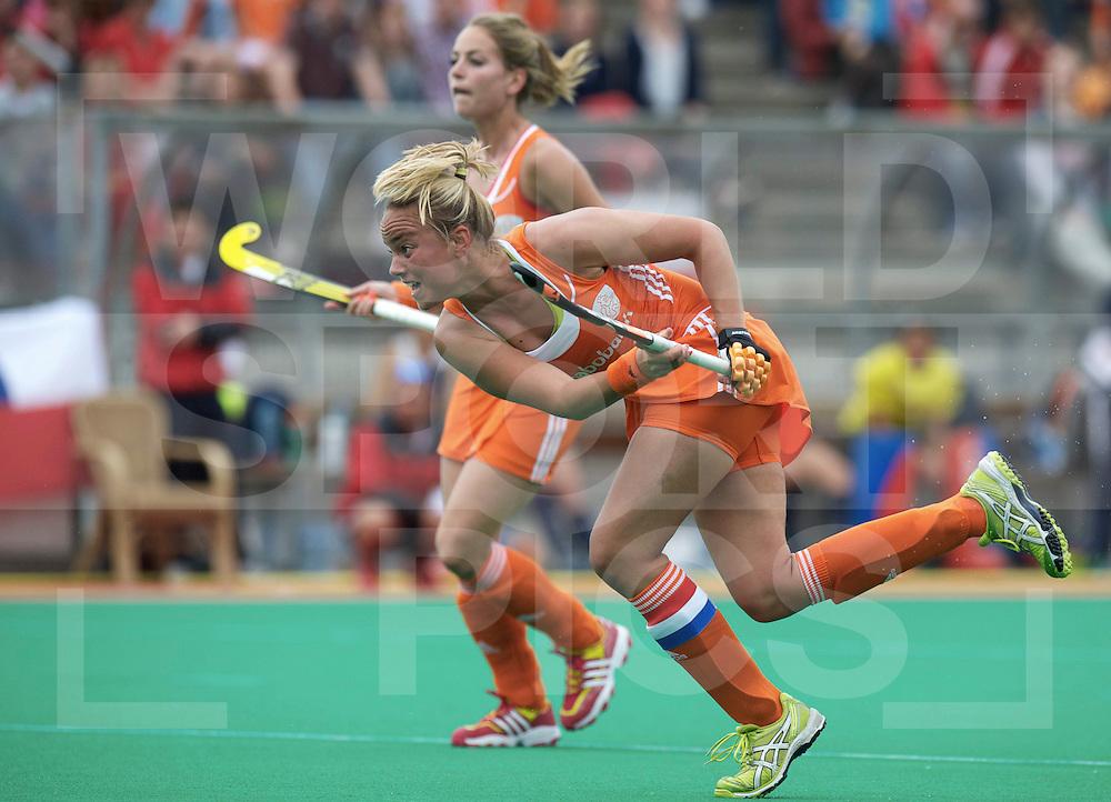 ROTTERDAM - Hock World League Semi Final Women<br /> Netherlands v Chile<br /> foto: Maartje Paumen pc<br /> FFU PRESS AGENCY COPYRIGHT FRANK UIJLENBROEK
