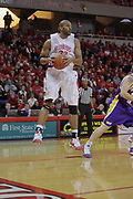 09 January 2010: Jackie Carmichael brings down a defensive rebound in the 1st half. The Panthers of Northern Iowa topple the Redbirds of Illinois State 59-44 on Doug Collins Court inside Redbird Arena at Normal Illinois.