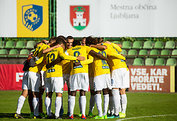 Players of Bravo during football match between NK Bravo and NK Celje in 13th Round of Prva liga Telekom Slovenije 2019/20, on October 5, 2019 in ZAK stadium, Ljubljana, Slovenia. Photo by Vid Ponikvar / Sportida