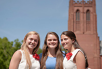 Form of 2014 Graduation candids.  Karen Bobotas / for St Paul's School