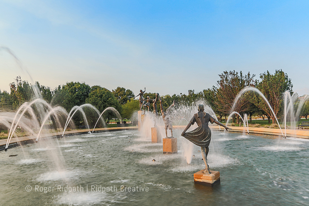 children's fountain North Kansas City Missouri