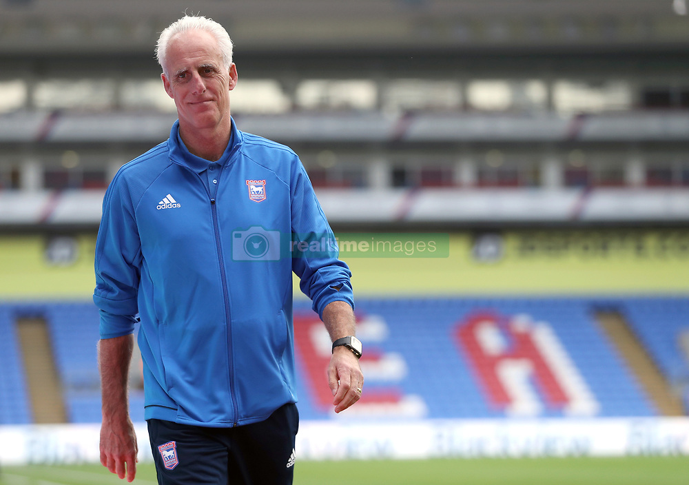 Ipswich Town manager Mick McCarthy before the Carabao Cup, Second Round match at Selhurst Park, London.
