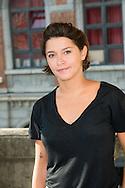 """Emma de Caunes  lors du Photocall du jury """"Court Métrage"""" du Festival du Film Francophone, Namur le 03 octobre 2014 Belgique"""