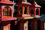 Shop selling shrines and all needs for altars, Hindu ritual and worship.