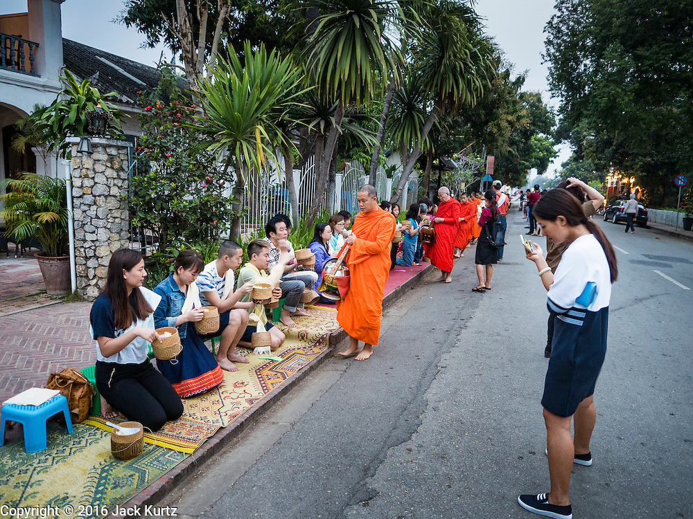 12 MARCH 2016 - LUANG PRABANG, LAOS:        PHOTO BY JACK KURTZ