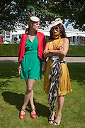 BUNDLE MACLAREN; GRACE WOODWARD, Ladies Day, Glorious Goodwood. Goodwood. August 2, 2012