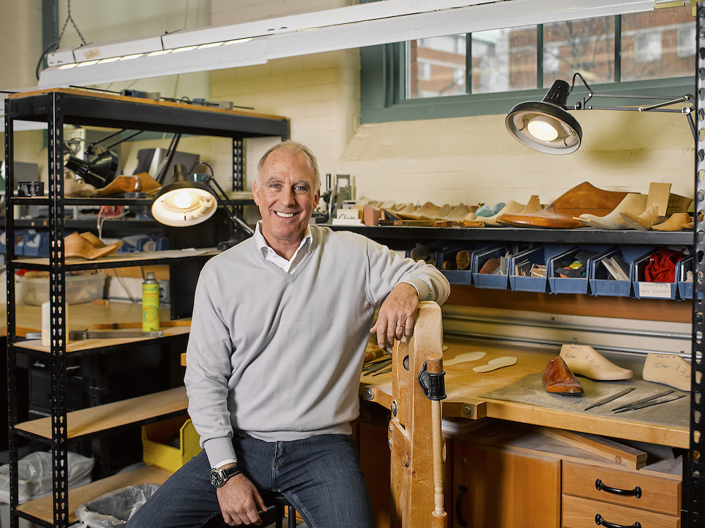Clarks shoes CEO Gary Champion