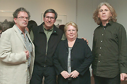 Pictured at the opening of 'Hymn to the Earth' a photography exhibition by Ron Rosenstock  at the Custom House Studio Gallery were Gabriel Rosenstock (Poet), Ron Rosenstock, Margaret Adams (Chairperson Westport Town Council), and John McHugh ( Custom House Director).<br /><br />Picture Conor McKeown.