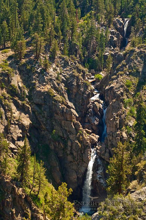 Leavitt Creek Falls, Toiyabe Natilonal Forest, Mono County, California