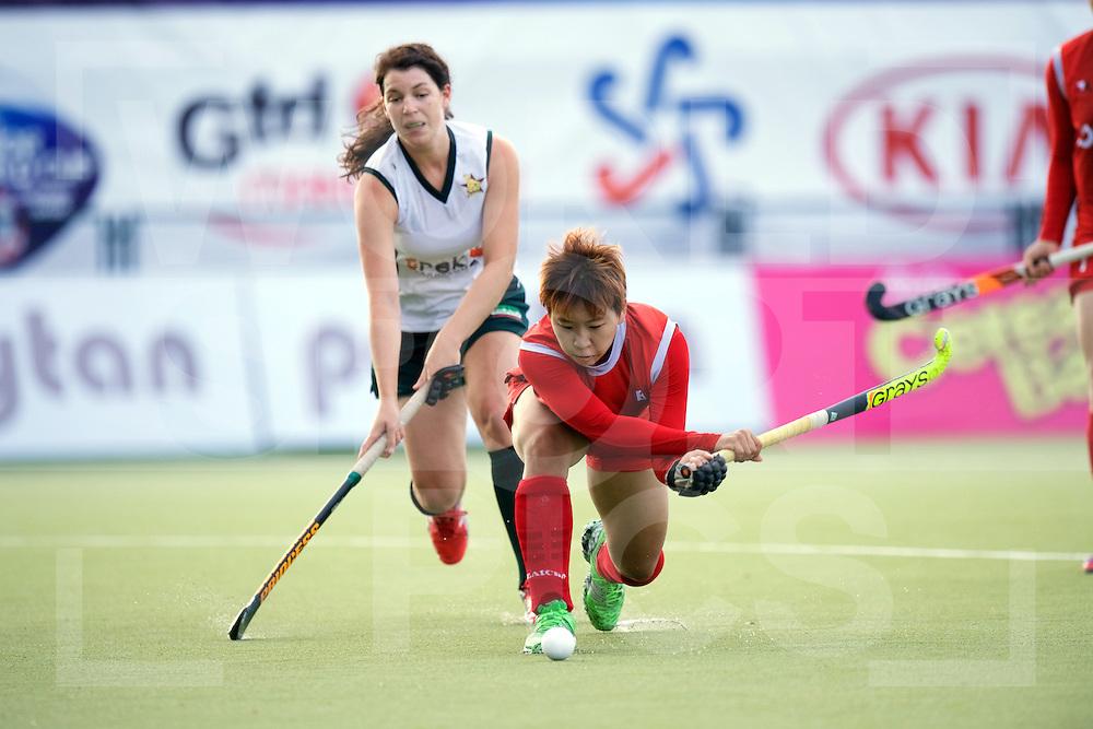 SANTIAGO - 2016 8th Women's Hockey Junior World Cup<br /> KOR v ZIM (Pool A)<br /> foto: <br /> FFU PRESS AGENCY COPYRIGHT FRANK