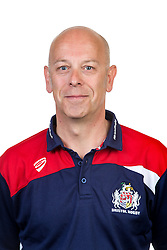 Bristol Rugby matchday announcer Richard 'Slick' Pitt - Rogan Thomson/JMP - 22/08/2016 - RUGBY UNION - Clifton Rugby Club - Bristol, England - Bristol Rugby Media Day 2016/17.