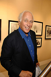 SIR EVELYN DE ROTHSCHILD at  a Private view of 'Terence Donovan: Image Maker And Innovator' at the Chris Beetles Gallery, 8 & 10 Ryder Street, London SW1 on 17th September 2007.<br />