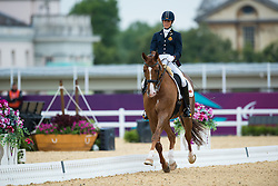 George Michele (BEL) - FBW Rainman<br /> Individual Championship Test - Grade IV - Dressage <br /> London 2012 Paralympic Games<br /> © Hippo Foto - Jon Stroud
