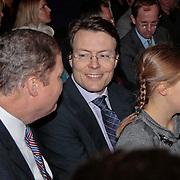 NLD/Rotterdam/20110202 - Boekpresentatie Mr. Finney door pr. Laurentien, Constantijn met dochter Eloise
