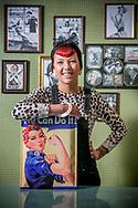 barbershop Emmys in Herentals-kapster Emily Hermans-foto joren de weerdt