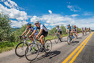 Road biking in Aspen, Colorado.