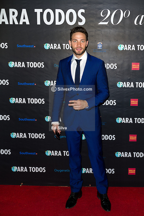 SANTA ANA, CA - OCT 10:  TV actor, singer and model Gabriel Coronel attends ParaTodos Magazine 20th Anniversary Gala at the Bower Museum on 10th of October, 2015 in Santa Ana, California. Byline, credit, TV usage, web usage or linkback must read SILVEXPHOTO.COM. Failure to byline correctly will incur double the agreed fee. Tel: +1 714 504 6870.