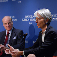 Council on Foreign Relations.Christine Lagarde.Minister for Economy, Finance, and Employment, France.Henry Kravis
