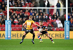 Ian Madigan of Bristol Rugby - Mandatory by-line: Paul Knight/JMP - 22/12/2017 - RUGBY - Ashton Gate Stadium - Bristol, England - Bristol Rugby v Cornish Pirates - Greene King IPA Championship
