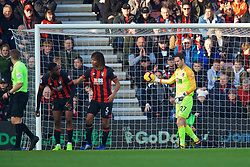 BOURNEMOUTH, ENGLAND - Sunday, November 25, 2018: AFC Bournemouth's Jefferson Lerma looks dejected after scoring an own-goal during the FA Premier League match between AFC Bournemouth and Arsenal FC at the Vitality Stadium. (Pic by David Rawcliffe/Propaganda)
