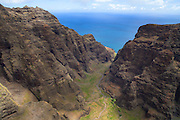 Nuulolo Kai Canyon, Kauai, Hawaii