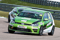 #14 Tom WITTS  Maximum Motorsport  Volkswagen Golf Milltek Sport Volkswagen Racing Cup at Rockingham, Corby, Northamptonshire, United Kingdom. April 30 2016. World Copyright Peter Taylor/PSP.