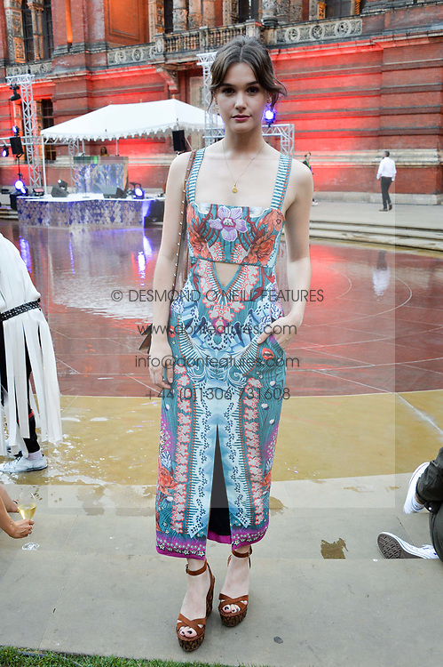 Sai Bennett at the V&A Summer Party 2017 held at the Victoria & Albert Museum, London England. 21 June 2017.