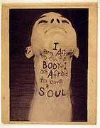16324Fred Harris Scans? Lather Dill throat? For Exhibition at Kennedy Museum