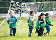 Middletown, New York - Youth soccer at the YMCA of Middletown  on Sept. 26, 2015.