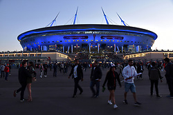 July 2, 2017 - St. Petersburg, Russia - Russia. St. Petersburg. July 2, 2017. Fans after FIFA Confederations Cup match between the national teams of Chile and Germany. St. Petersburg Arena stadium. (Credit Image: © Andrey Pronin via ZUMA Wire)