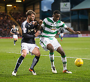 Dundee&rsquo;s Rory Loy shits down Celtic's Dedryck Boyata  - Dundee v Celtic, Ladbrokes Scottish Premiership at Dens Park<br />  <br />  - &copy; David Young - www.davidyoungphoto.co.uk - email: davidyoungphoto@gmail.com