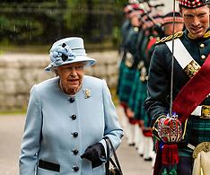 Queen's Arrival Parade, Balmoral Castle, 6 August 2019
