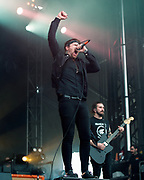 Beartooth perform on May 3, 2019 at Metropolitan Park in Jacksonville, Florida (Photo: Charlie Steffens/Gnarlyfotos)