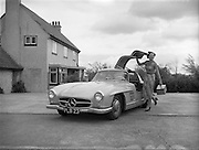 09/05/1955<br /> 05/09/1955<br /> 09 May 1955<br /> Mercedes Benz Special for Motor Distributers Ltd., Inchicore  (O'Kennedy -Brindley). Mercedes 300SL at Red Island, Skerries, Dublin.